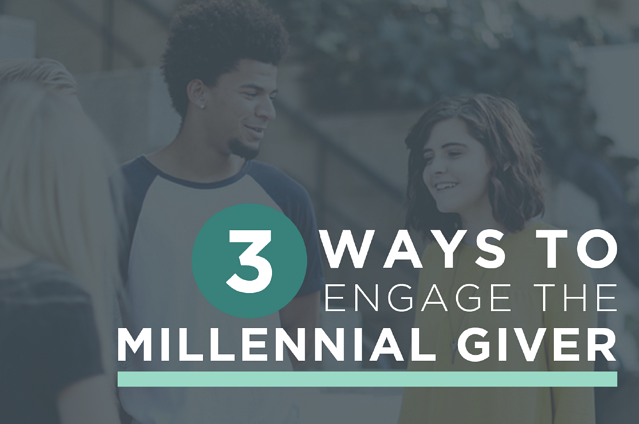 ways to engage millennial givers generis