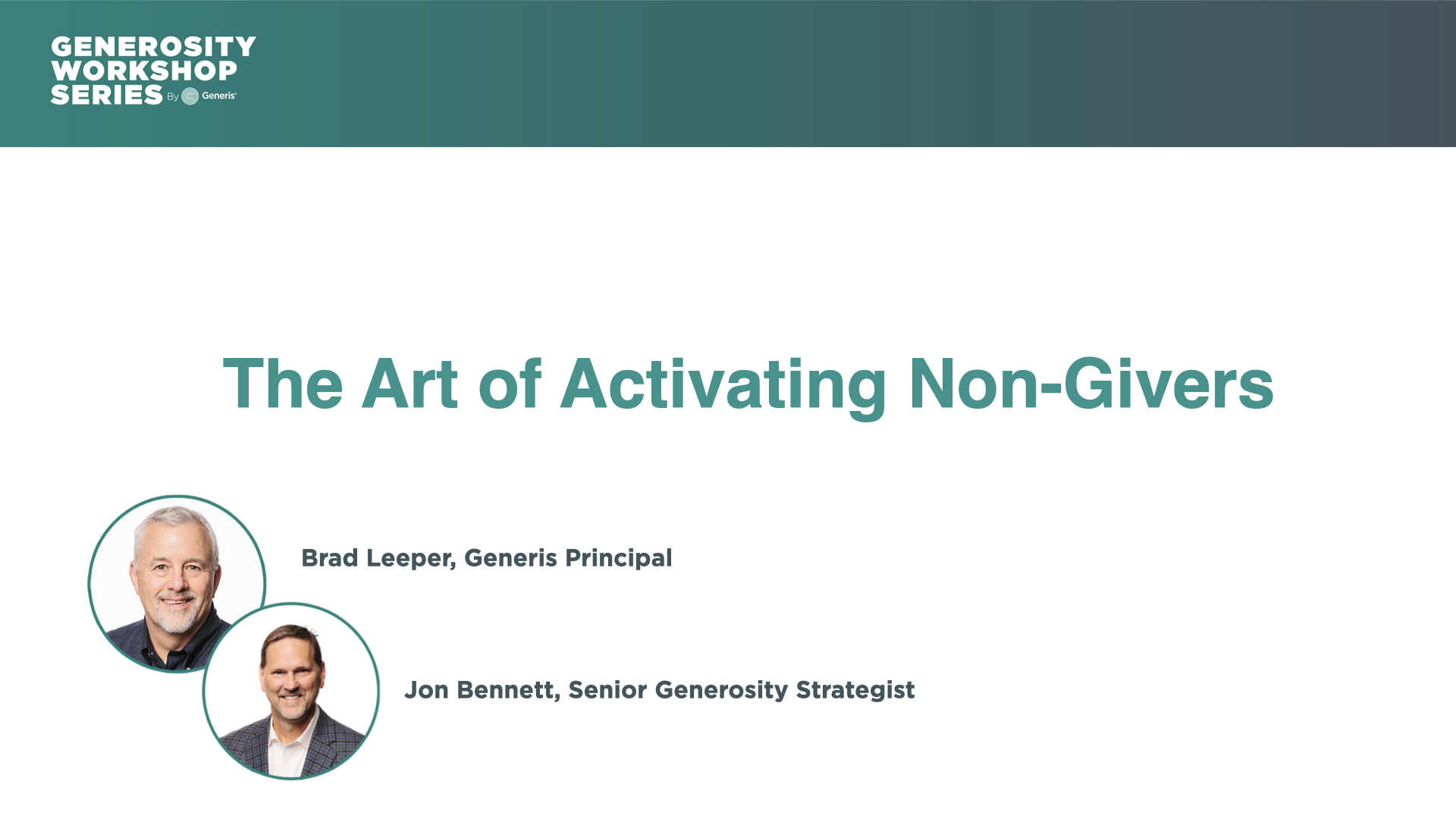 The Art of Activating Non-Givers
