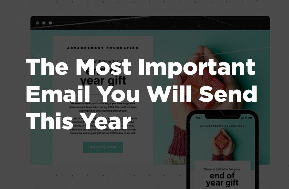 The Most Important Email You Will Send This Year