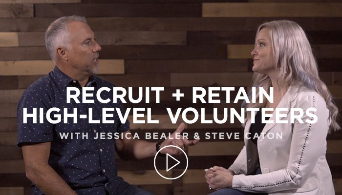 Recruit and Retain Volunteers with Jessica Bealer